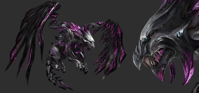 Guild Wars 2 in Game Models and Zbrush Models